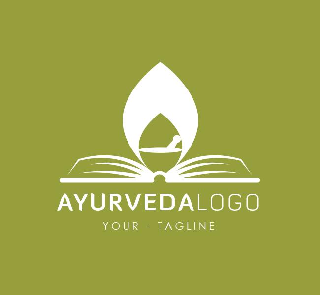 Pre-Made-Ayurveda-Logo-White