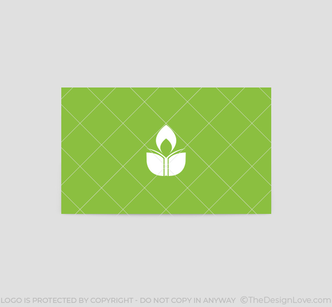 Green-Education-Business-Card-Template-Back