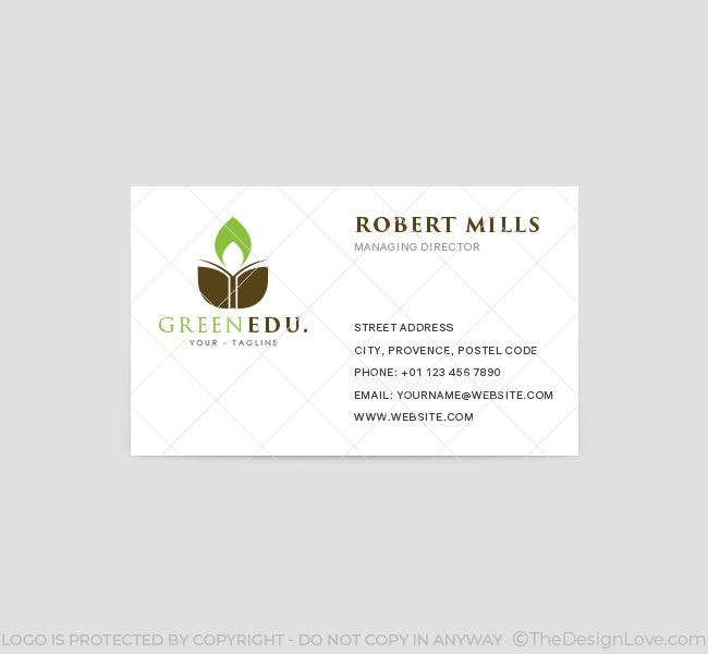 Green-Education-Business-Card-Template-Front