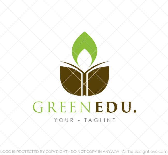 Green Education Logo & Amp Business Card Template The Design