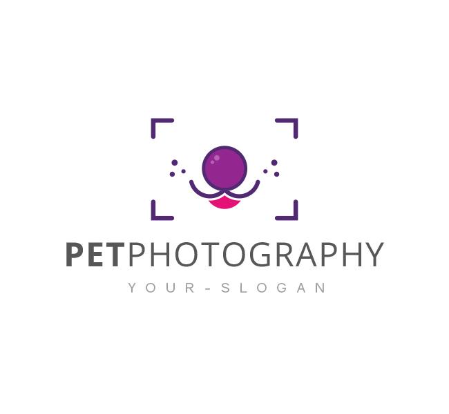 Pet Photography Logo Template