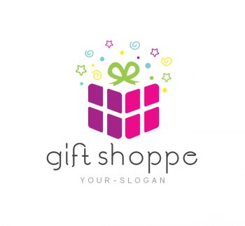 Gift Shop Logo & Business Card Template