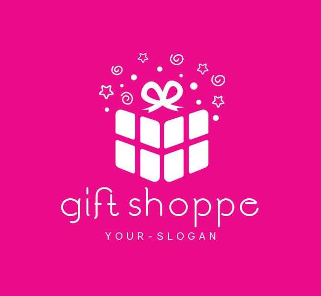 Pre-Made-Gift-Shop-Logo-White