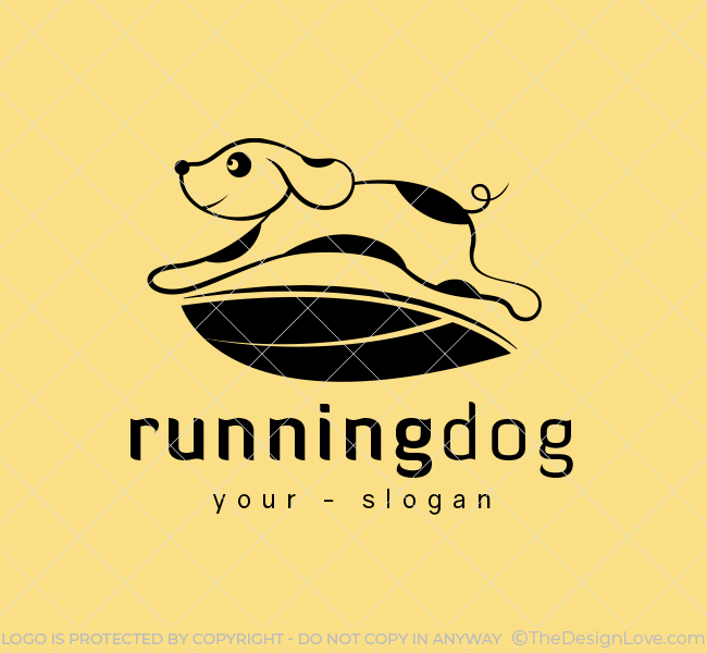 Ready-Logo-Running-Dog-Black