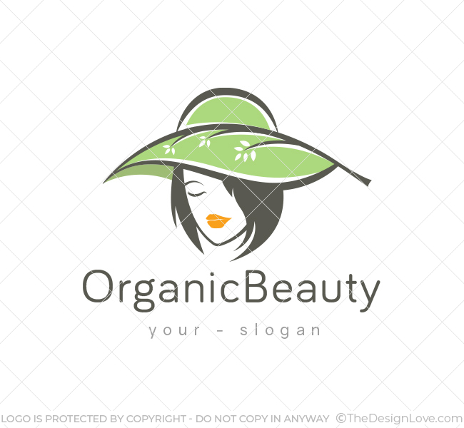 Organic-Beauty-Logo-Template