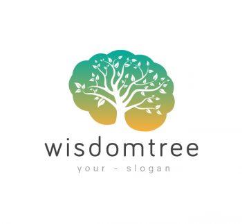 Wisdom Tree Logo & Business Card Template