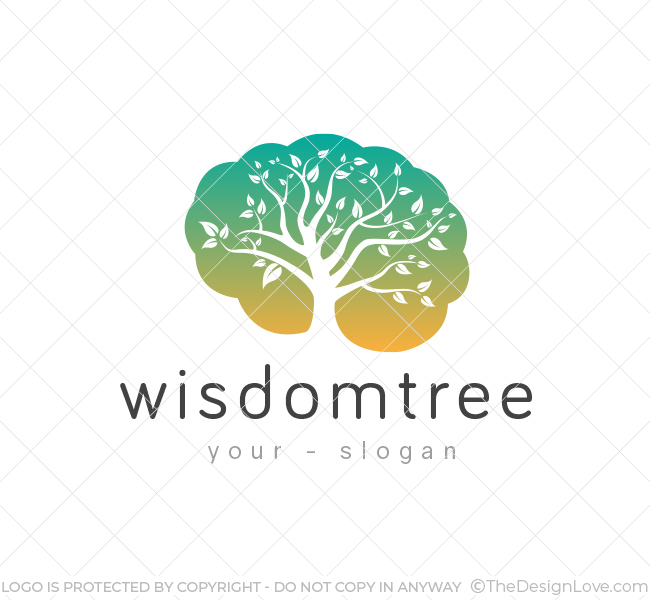 Wisdom-Tree-Logo-Template
