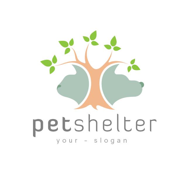 Pet-Tree-Logo-Template