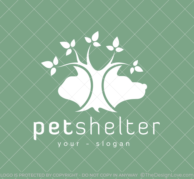 Pre-Made-Pet-Tree-Logo-White