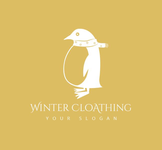 Pre-Designed-Logo-Winter-Clothing-White