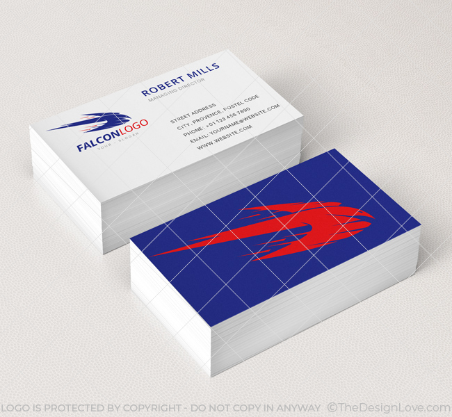 Falcon-Business-Card-Mockup