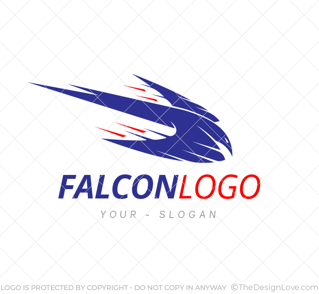 Falcon logo business card template the design love falcon logo template cheaphphosting Gallery