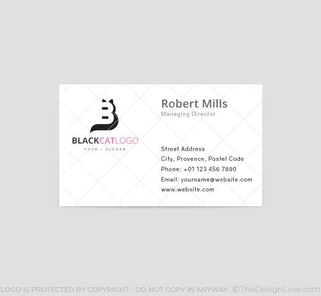 Black-Cat-Business-Card-Template-Front