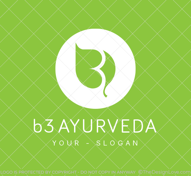 Pre-Made-B3-Ayurveda-Logo-White