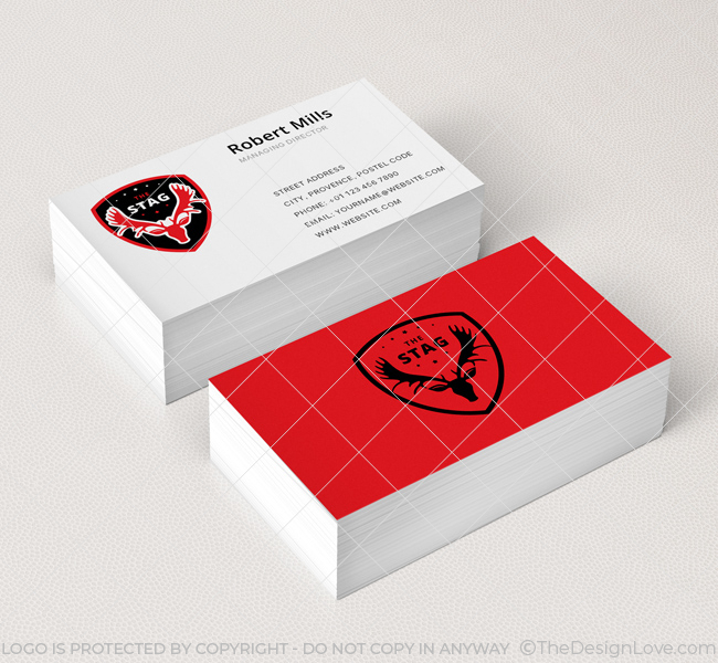 Stag-Shield-Business-Card-Mockup