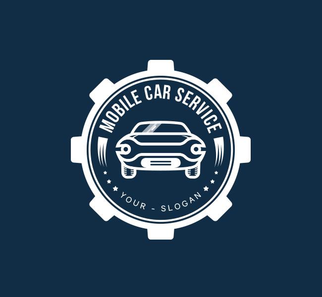 Pre-Designed-Logo-Mobile-Car-Service-White