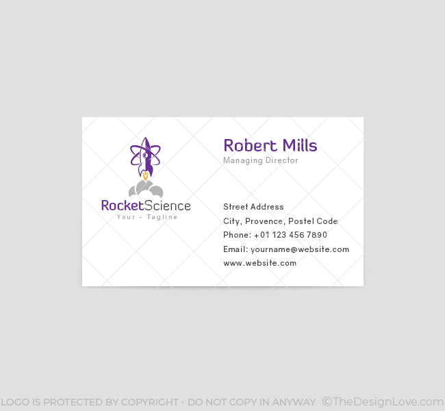 Rocket-Science-Business-Card-Template-Front