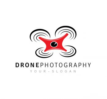 Drone Photography Logo & Business Card Template