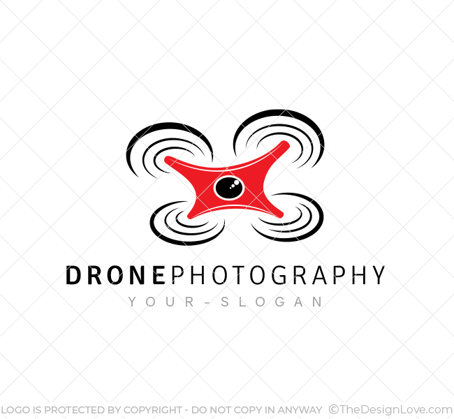 Drone Photography Logo & Business Card Template - The Design Love