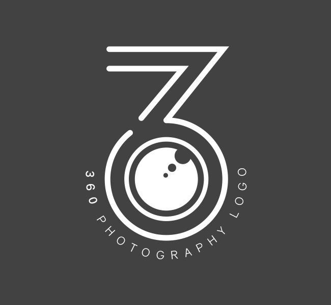 Pre-Designed-Logo-360-Photography-White