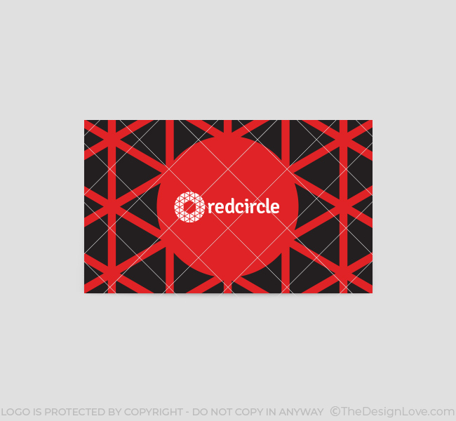196-Red-Circle-Business-Card-Template-Back