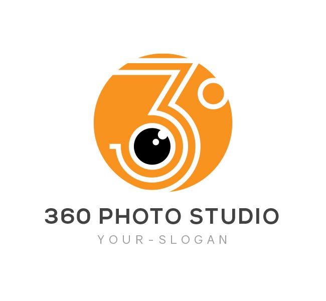 360 Photo Studio Logo Amp Business Card Template The