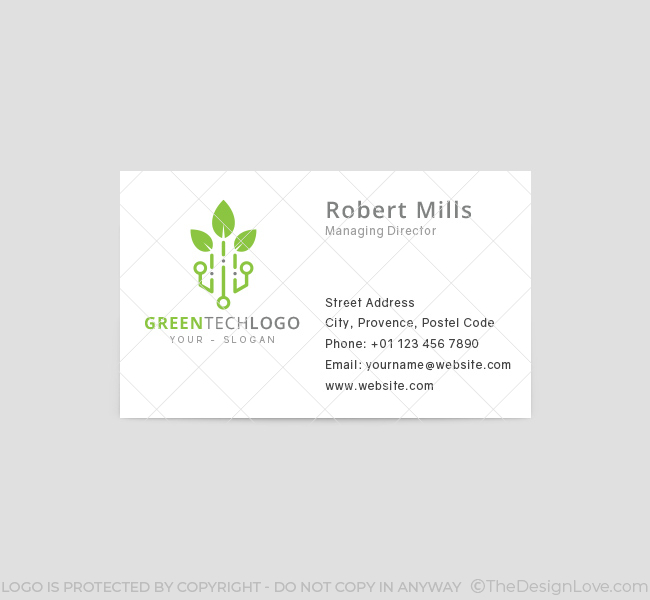 Green-Tech-Business-Card-Template-Front