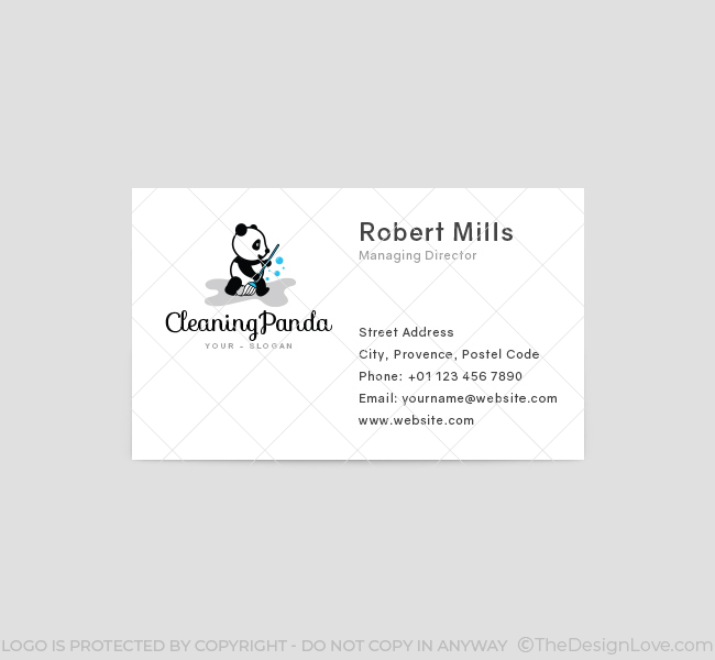 Cleaning-Panda-Business-Card-Template-Front