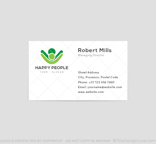 Happy-People-Business-Card-Template-Front