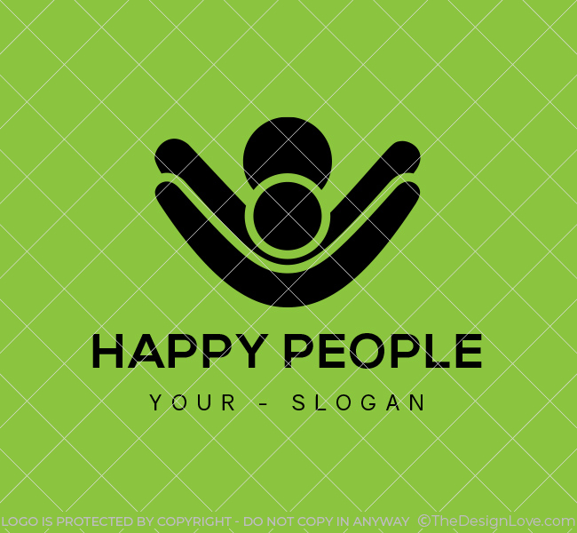 Ready-made-Logo-Happy-People-Black