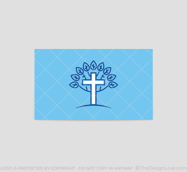 Cross-Tree-Church-Business-Card-Template-Back
