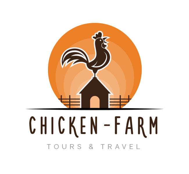 chicken farm logo business card template the design love