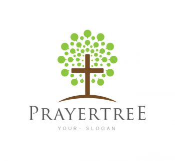 Prayer Tree Church Logo & Business Card Template