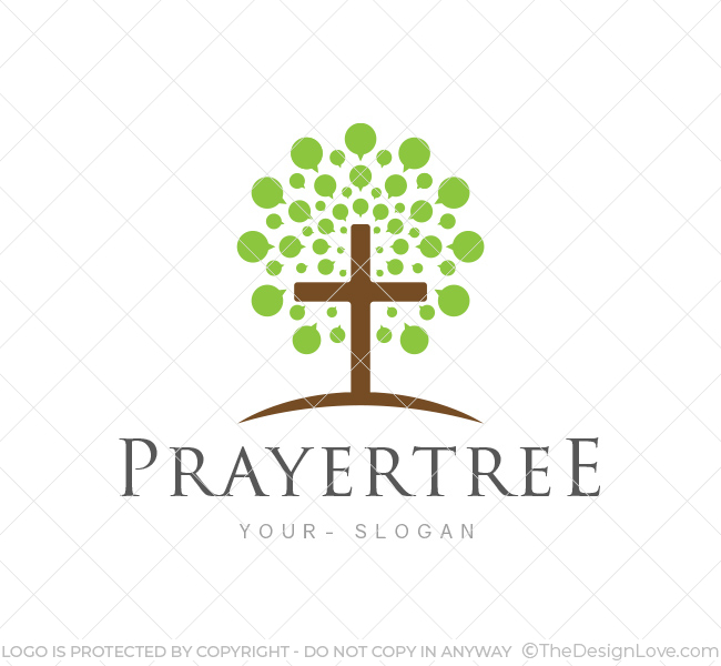 Church Logos, Tree Prayer Tree Church Log...