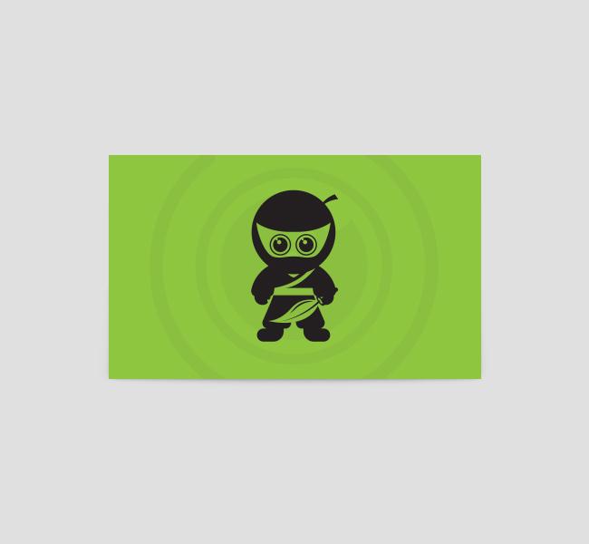 Green-Ninja-Business-Card-Template-Back