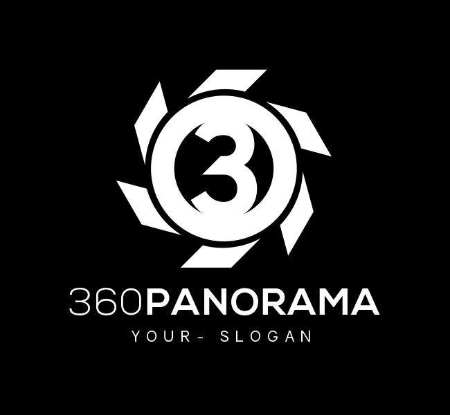 Pre-Designed-Logo-360-Panorama-White