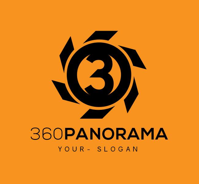 Ready-made-Logo-360-Panorama-Black