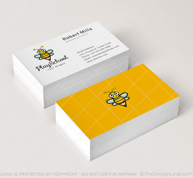 Happy-Bees-Play-School-Business-Card-Mockup