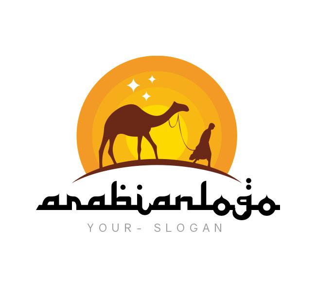Arabian-Logo-Template