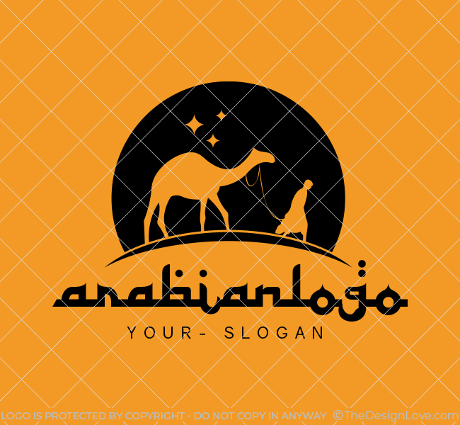 Ready-made-Logo-Arabian-Black