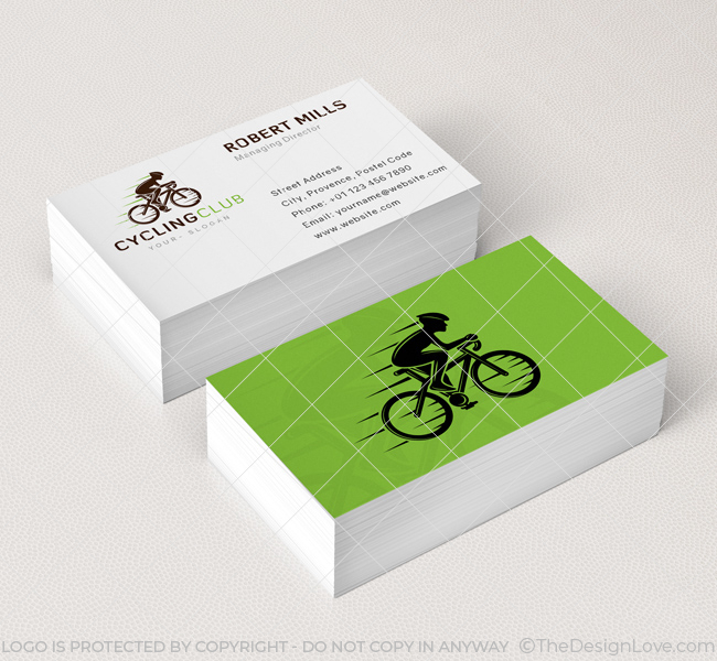 Cycling Club Logo & Business Card Template - The Design Love