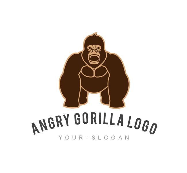 Gorilla-Logo-Template