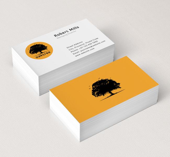 Oak-Tree-silhouette-Business-Card-Mockup