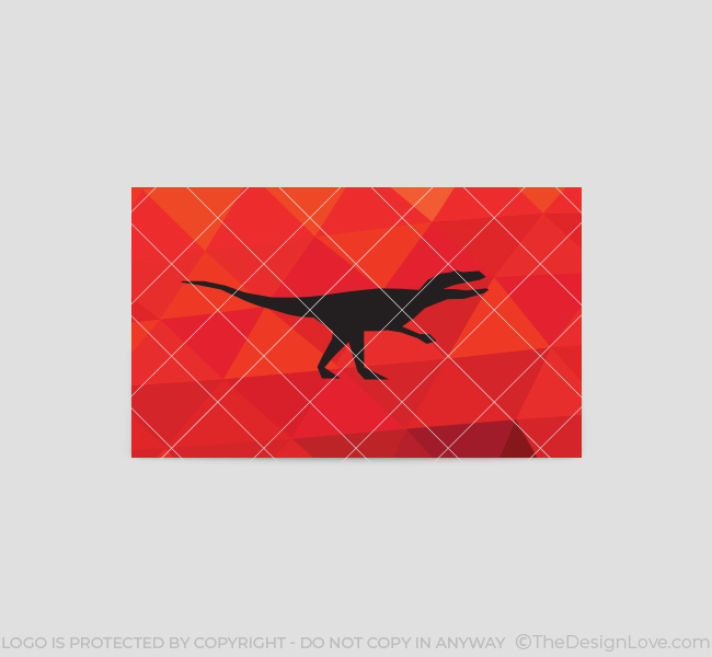 197-Red-Dinosaur-Business-Card-Template-Back