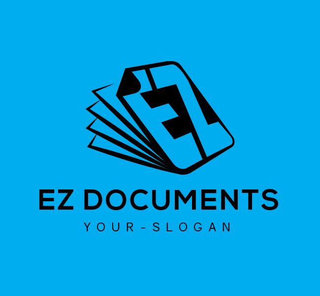 Ready-made-Logo-EZ-Documents-Black