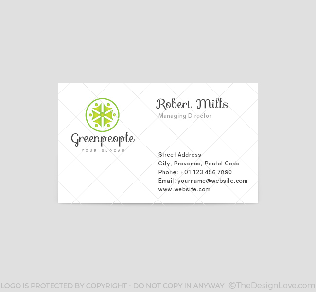 Green-People-Business-Card-Template-Front