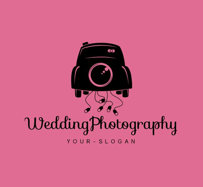 Wedding-Photography-Logo-Red-Circle-Black