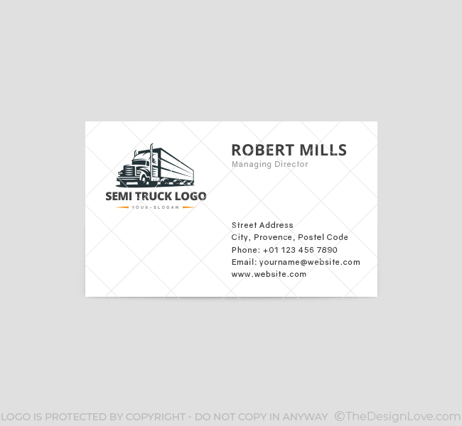 Truck-Logo-Business-Card-Template-Front