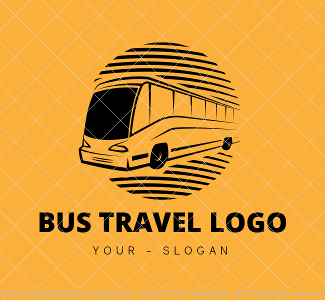 Ready-made-Logo-Bus-Travel-Black