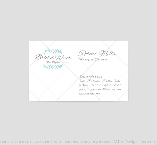 Bridal-Wear-Business-Card-Template-Front